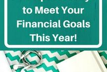 Financial Goals 2017 / Tips and Tricks to Help Meet Financial Goals This Year!