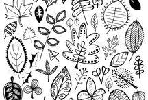 Doodles | Flowers | Ideen / Doodle, Flowers, Blumen, Vorlagen, Skizzen, Zeichnungen, Tiere, Figuren