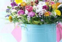 Blumen I Flowers | greenery / Blumenarrangements, Sukkulenten, Blumendeko, Tischdekoration, Flowerpower, Blumensträuße