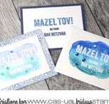 Mazel Tov / Mazel Tov is all about congratulatory celebration. With the pretty mix of fonts, you'll be able to use it for both feminine and masculine cards.