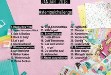 Stempelchallenge | Stampin'up | trashtortendesign / Stempelchallenge, Instachallenge, Kreative Herausforderung, Mitmachen, Blogparade, Stampin'up!  Karten, BASTELN mit Papier, Stempel