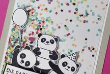 Stampin'up! | Pandas / Ideen mit Pandas, Stampin'up! Und noch mehr Pandastempel.