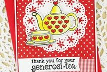 Serendipi-tea & Teapot Fri-Dies / CAS-ual Fridays Stamps New Release: Serendipi-tea Stamps in a clear photopolymer stamp set and Teapot Fri-Dies made in the USA and available at www.cas-ualfridaysstamps.com #casfridays  #casualfridays #stamps #diecutting  #casualfridaysstamps #cardmaking #handmade #teapot #teacup