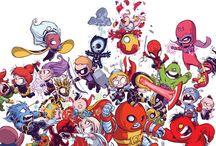 Make Mine Marvel! / Marvel Comics super heroes / by Rodrigo Romero
