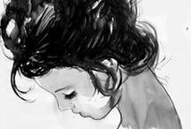 Sketches and studies / Этюды и наброски