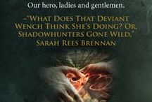 Shadowhunters and Downworlders / Some of our favorite quotes from SHADOWHUNTERS AND DOWNWORLDERS, an anthology on Cassandra Clare's Mortal Instruments series http://www.smartpopbooks.com/book/shadowhunters-and-downworlders