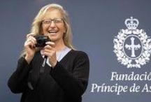 Annie Leibovitz / fotógrafa Estadunidense, recibió el Premio Principe de Asturias 2013 de Comunicación y Humanidades