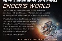 Ender's World / Some of our favorite quotes from ENDER'S WORLD, an anthology on ENDER'S GAME http://www.smartpopbooks.com/book/enders-world