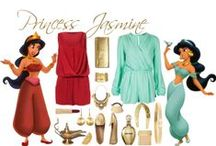 Jasmine  / Disney princess outfits Jasmine Alladin