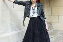 Daily fashion: maxi skirts
