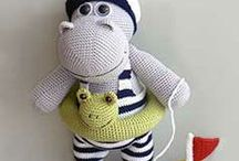 Amigurumi crochet / leuke amigurumi's / by Sientje Paard