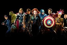 The Avengers (etc.) / by Caola Allen