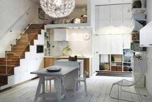 Pienen kodin elämää / small space living