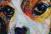 Textile Art - Animals