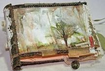 Textile Art - Sketch- and textile books