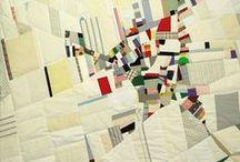 Textile Art - Maps