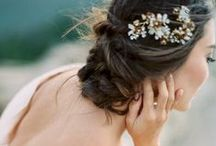 bridal style / wedding make-up, hair, and other feminine flair