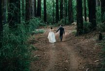woodland wonder wedding inspiration / adventurous and amorous commitments to one another in the lush surroundings of Seattle and Portland