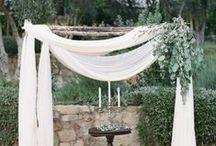 Inspired Ceremonies / Ceremony spaces we adore!