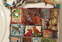 Textile Art - Bag, Purse,  Sac