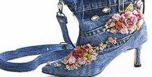 Textile Art - Shoes, Boots, Highheels