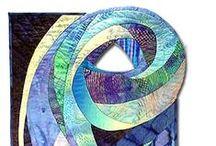 Textile Art - Spirals