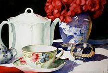 Cup of Tea with me / Teacups, teasets, drinking with friends.