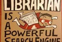 Hooray For Libraries & Librarians / Fun facts, images or info regarding libraries or librarians
