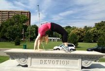 Yoga Students on Vacation / Please post a photo of you in  a yoga pose while on vacation!