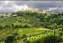 San Giminiano, Toscana