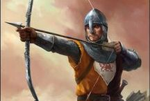 Robin Hood / Medieval times, bows and arrows, swords, Sherwood Forest
