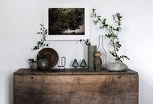 Styled to perfection / Mastering the art of vignettes and decor styling.