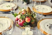 Tablescapes and Entertaining / Table settings, centerpieces, etc...
