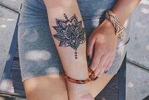 tattoos / by fernanda monteiro