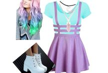 Polyvore / My POLYVORE outfits; designs; finds