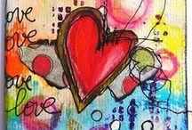 Bubbles, Hearts & Butterflies / Bubbles, baubles, bows and hearts