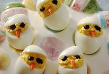 Happy Easter! / There are so many cute food crafts- and regular crafts- to do around Easter. Here are a few we love!