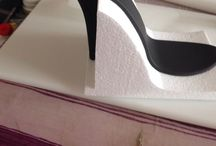 Shoe Art / Fondant shoes