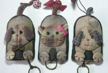Key covers/rings / by Sue Horn