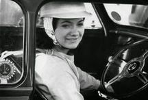 Women Behind the Wheel / A collection of the most inspiring and interesting women behind the wheel!