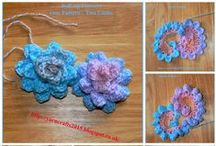 Crochet Flowers / All free crochet patterns to make gorgeous flowers. They can be used for jewelry, for embellishments or made up into scarves, bags and other items. Great for beginners