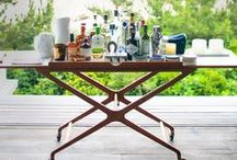 Drinks Trolleys / The amazing drinks trolleys which should all be filled with GIN