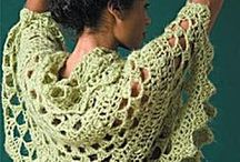 Crochet Wraps and Shawls / All free crochet patterns for shawls, stoles and wraps