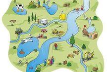 Creative map design