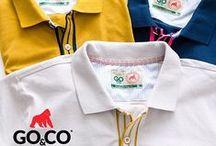 """Polo Go&Co / GO&CO """"The famous gorillas brand"""" Envíos a todo Colombia / WhatsApp pedidos: 304 465 55 29 E-mail: contacto@gococlothing.com www.gococlothing.com"""