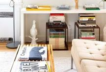 Tips & Ideas for Small Spaces / Tips and ideas for the small spaces in your home ~ Pier, Fine Associates ~ www.pierfine.com
