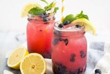Summer Beverages! / As the weather gets warmer, it's important to stay hydrated with fun and delicious beverages!
