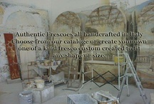 Italian custom Frescoes  / Authentic Frescoes handcrafted and custom created for you