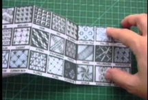 Zentangle Strings & Patterns & How Too's / Zentangle how to's.
