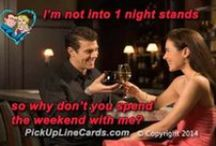 Dirty - Pickup Line Cards / Dirty pick up lines that you will love to try out or read just for fun. Great to use in bars and clubs with our included mobile app.